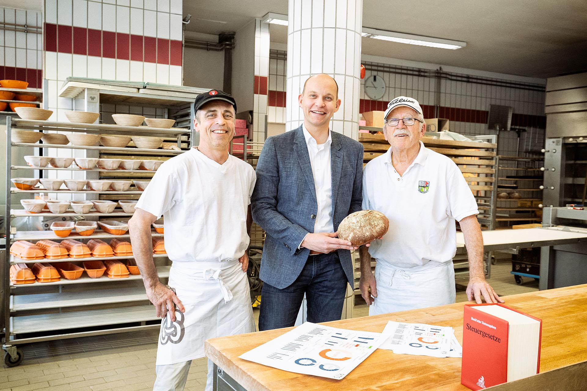 Der Bäcker Steuerberater-Björn Malig-Kassennachschau-Kassenprüfer